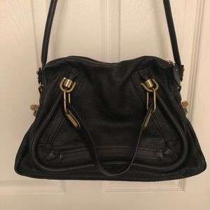 Authentic Chloe Paraty small satchel